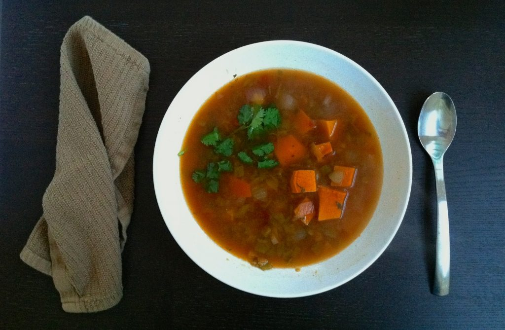 Fall Harvest Vegetarian Pozole 4