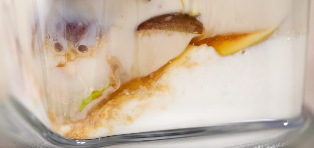 Fig Yogurt Vanilla Honey Smoothie 1