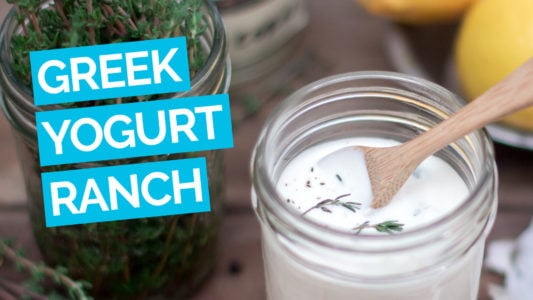 Greek Yogurt Ranch Dressing video blue