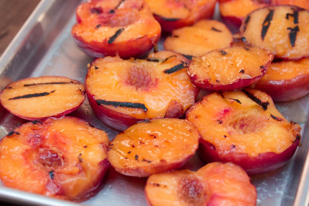 Grilled Peaches 3