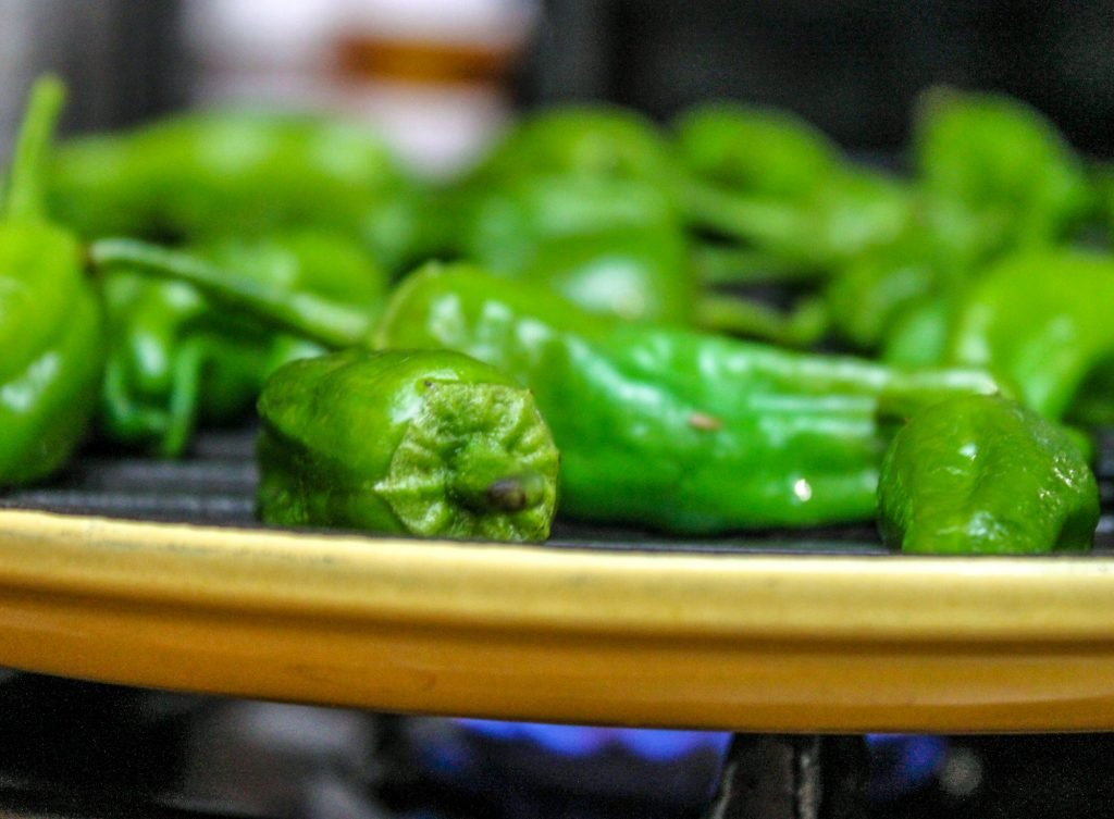Grilling Peppers 1