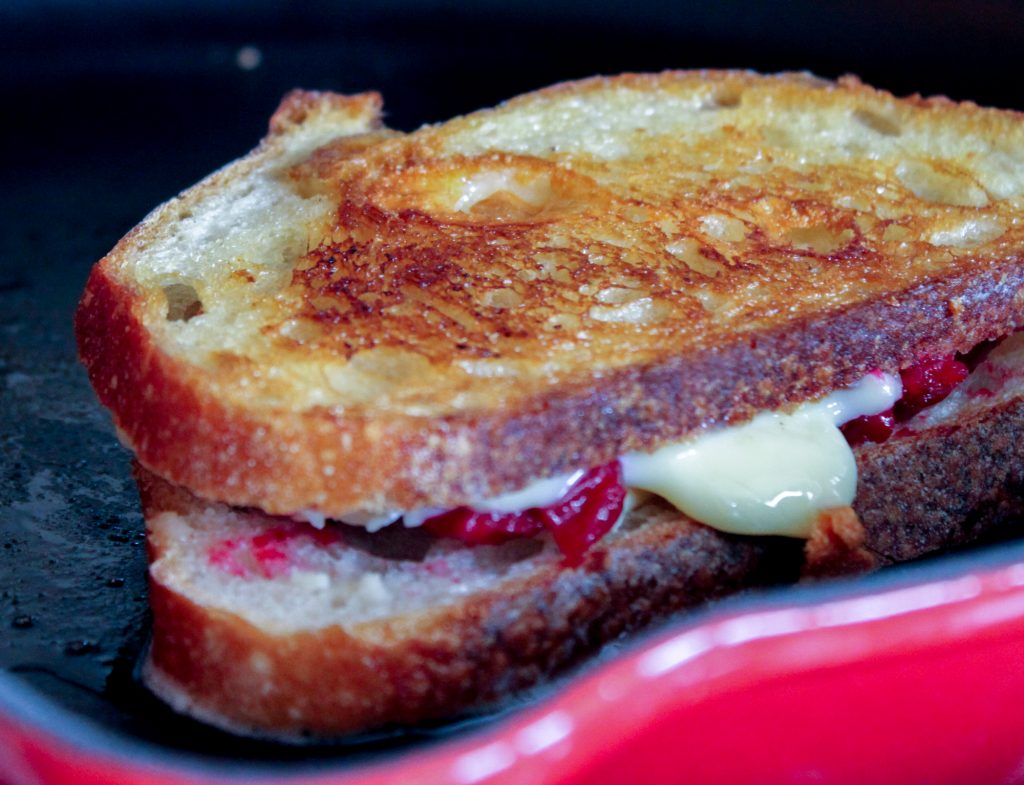 Grilling Roasted Cranberry Brie 1