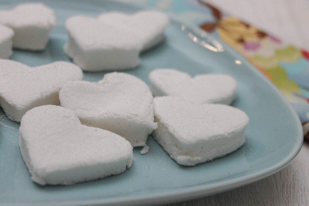Heart Shaped Marshmallows 1