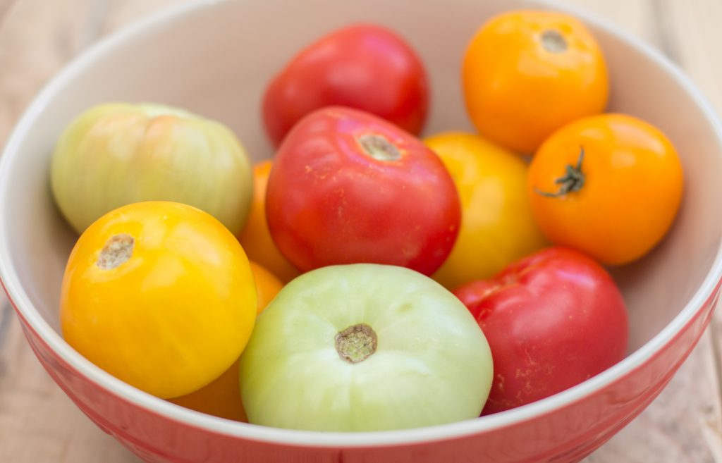 Heirloom Tomato Tart 1