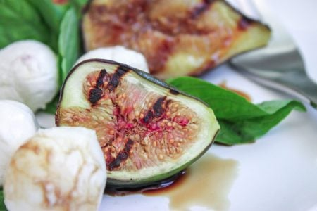 Honey Grilled Fig Salad 1