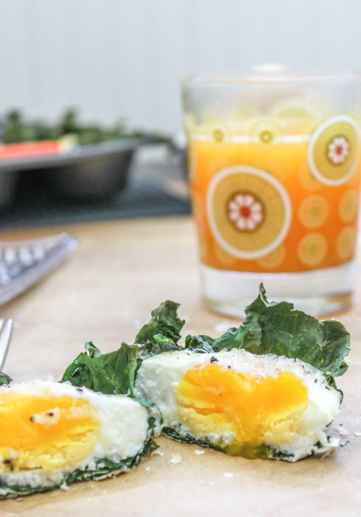 Kale Baked Eggs 2 2