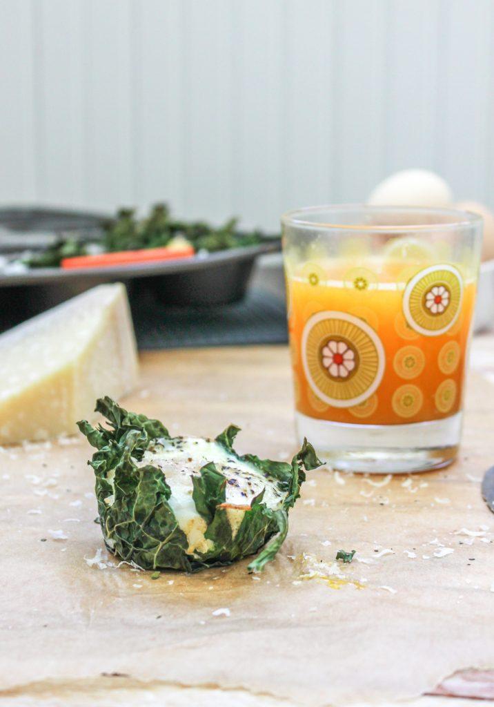 Kale Baked Eggs 3 1