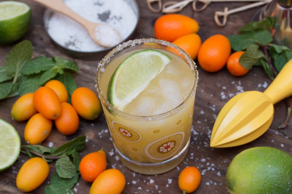 Kumquat Mint Margarita 1