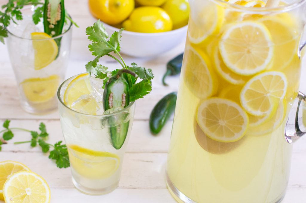 Lemonade with Jalapeno Cilantro 1 1