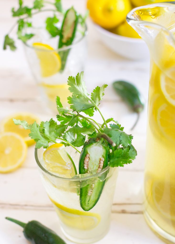 Lemonade with Jalapeno Cilantro 3 2