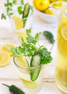 Lemonade with Jalapeno Cilantro 3 3