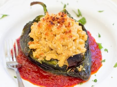 Macaroni and Cheese Stuffed Chile Pepper 3