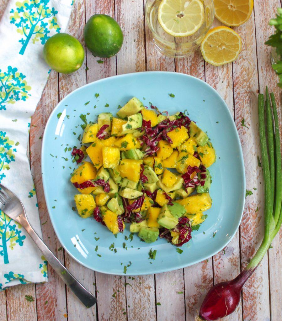 Mango Avocado Salad Full 1