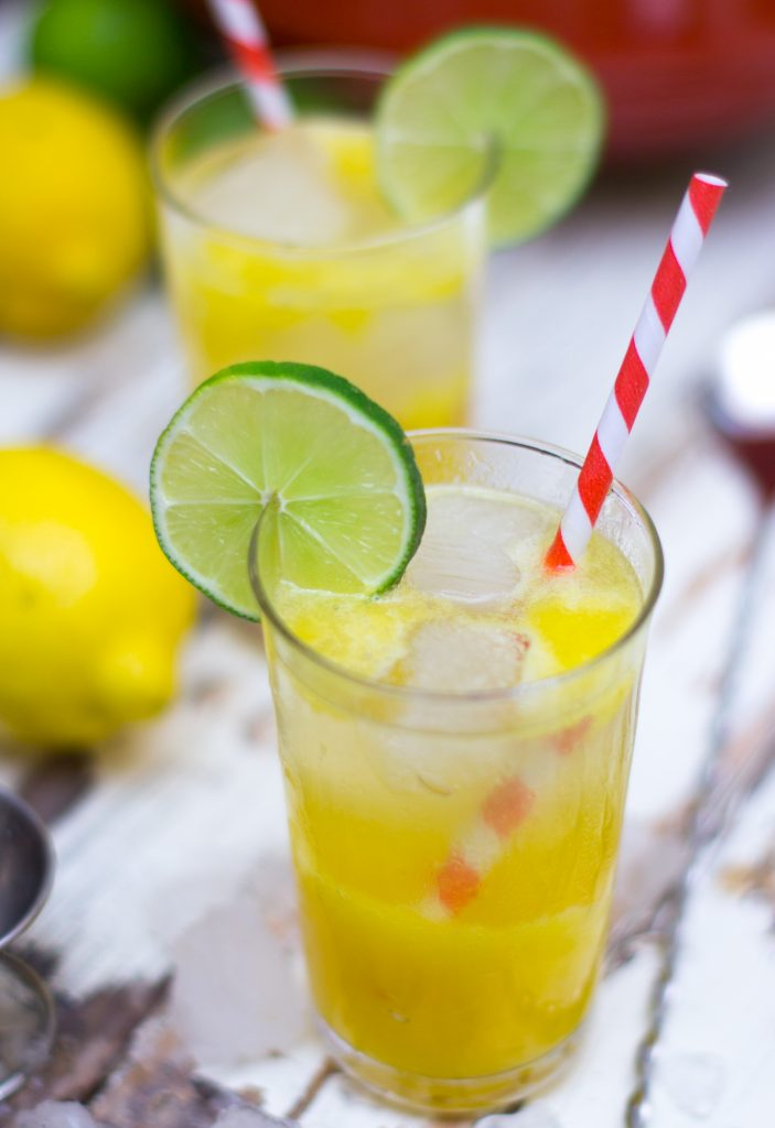 Mango Lemonade with Tequila 2