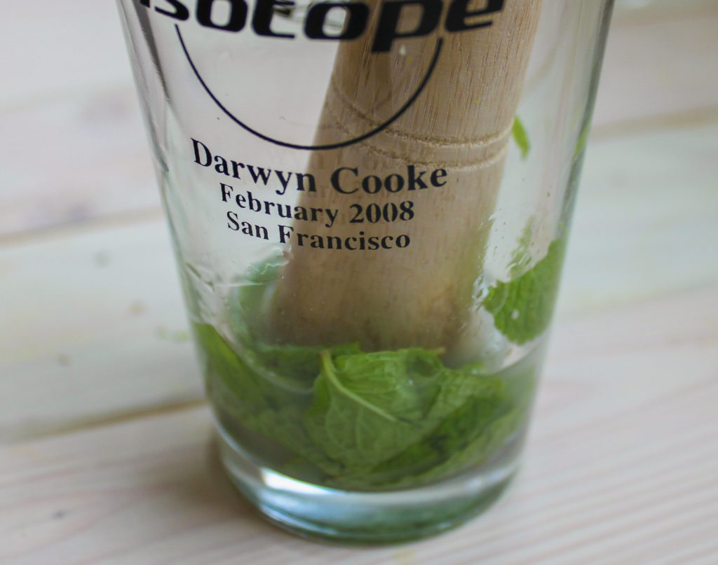 Mint Mulled in Sake 1