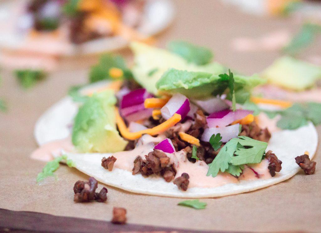 Mushroom Meat Taco 2