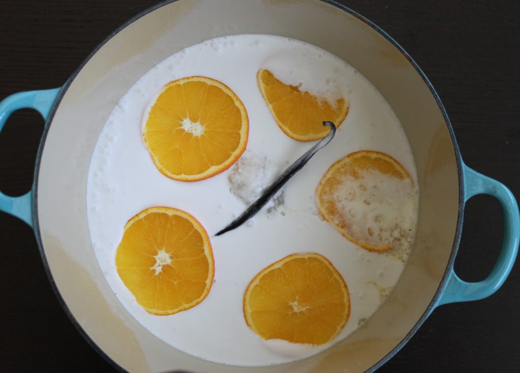 Oranges Vanilla Coconut Milk Risotto 1