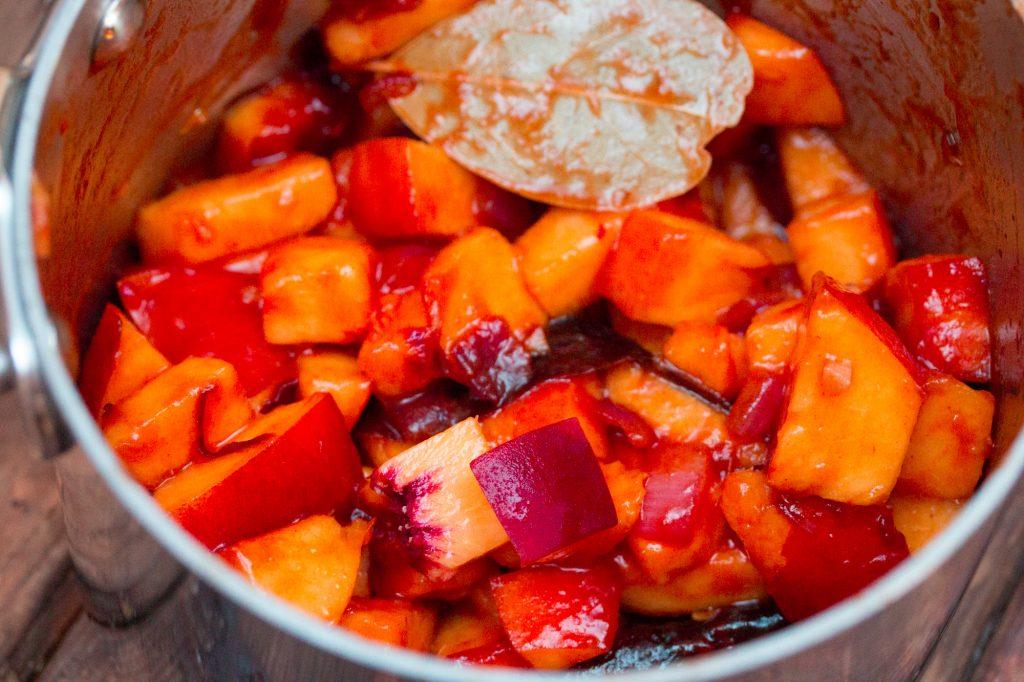Peach Sriracha Homemade Ketchup1 1