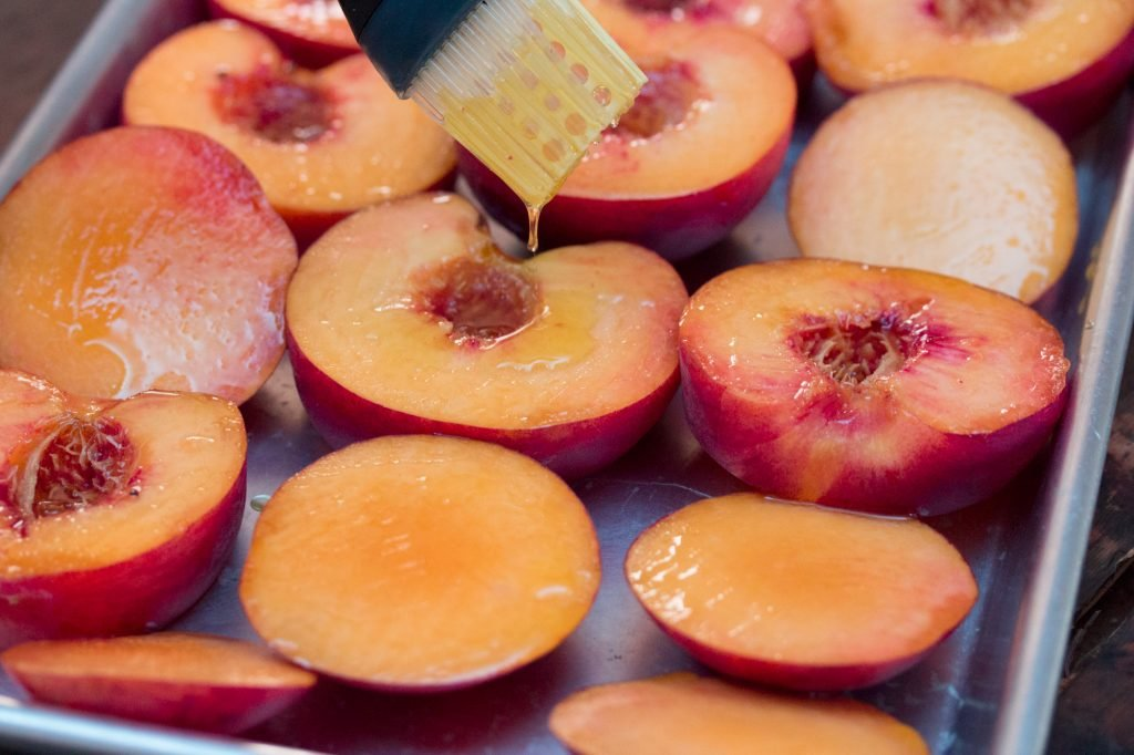 Peaches with Olive Oil 1
