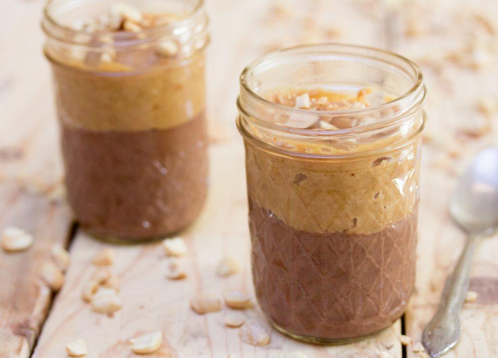 Peanut Butter Cup Panna Cotta Vegan 2 1