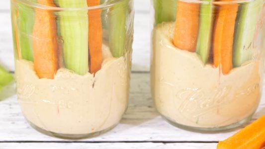 Peanut Butter Hummus Dip Kid Friendly Main 1