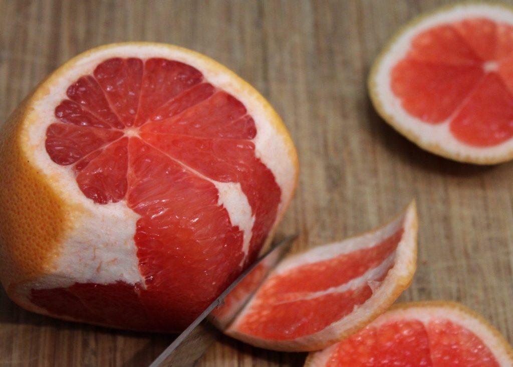 Peeled Grapefruit 1