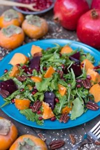 Persimmon Pomegranate Quinoa Salad 2 3
