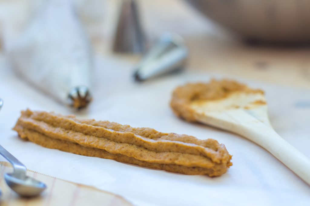 Pumpkin Pie Churro Piped 1