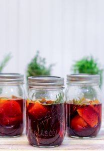 Red Wine PIckled Beets 6 3