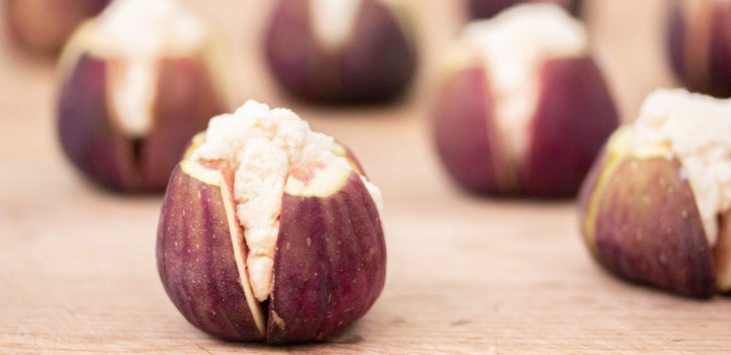 Ricotta Cheese Stuffed Figs Image 1