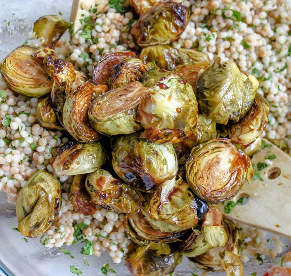Roasted Brussels Sprouts Couscous 1