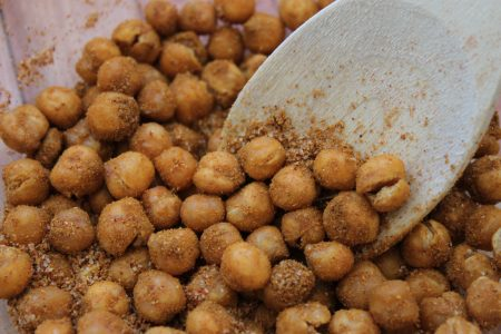 Roasted Curry Chickpeas Main 1