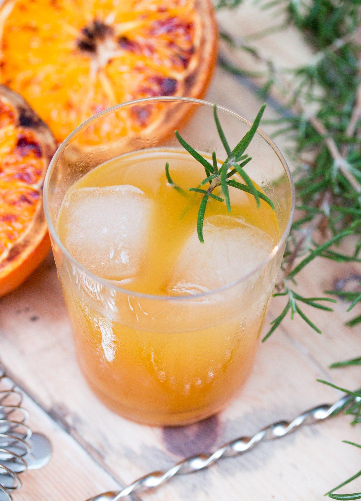 Roasted Orange Whiskey Cocktail 2 3
