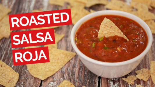 Roasted Salsa Roja video red