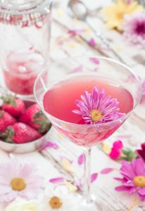 Rose Wine Cocktail 3