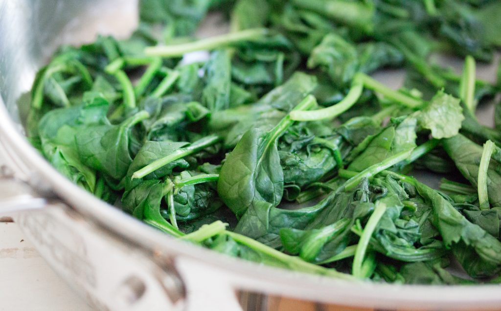 Sauteed Spinach 1