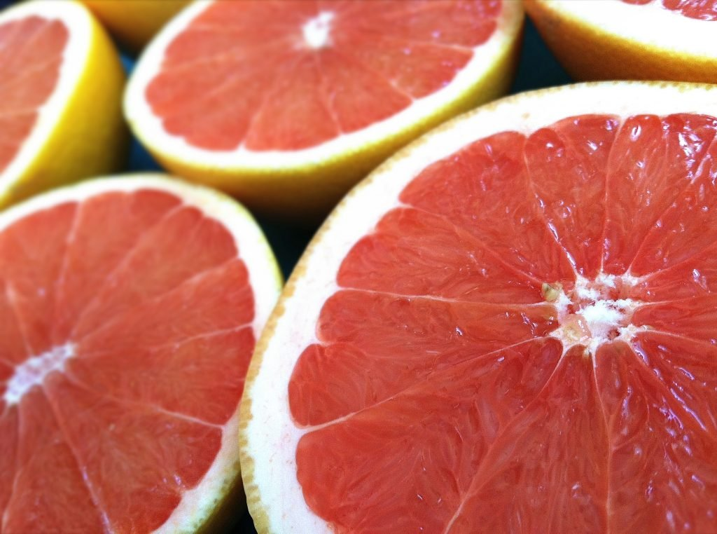 Sliced Grapefruit 1