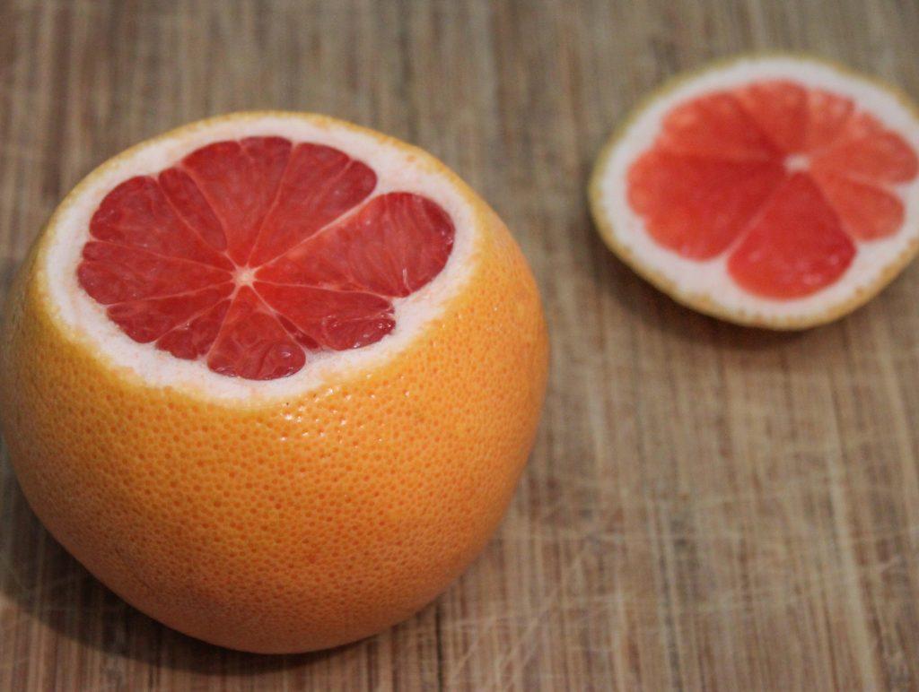 Sliced Grapefruit 1
