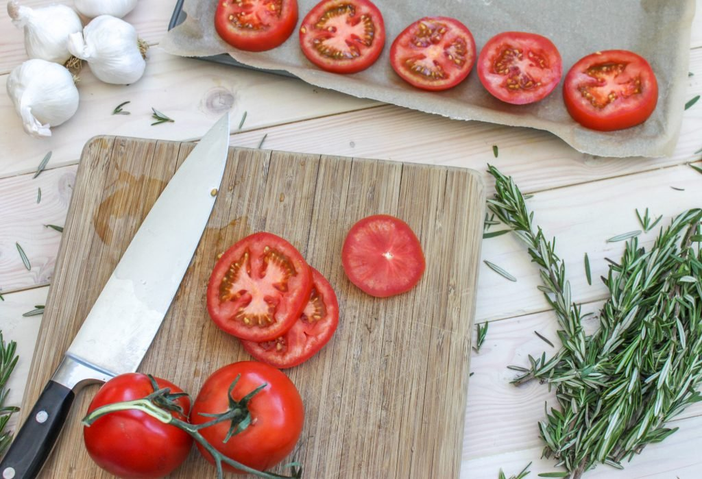 Sliced Tomatoes 1