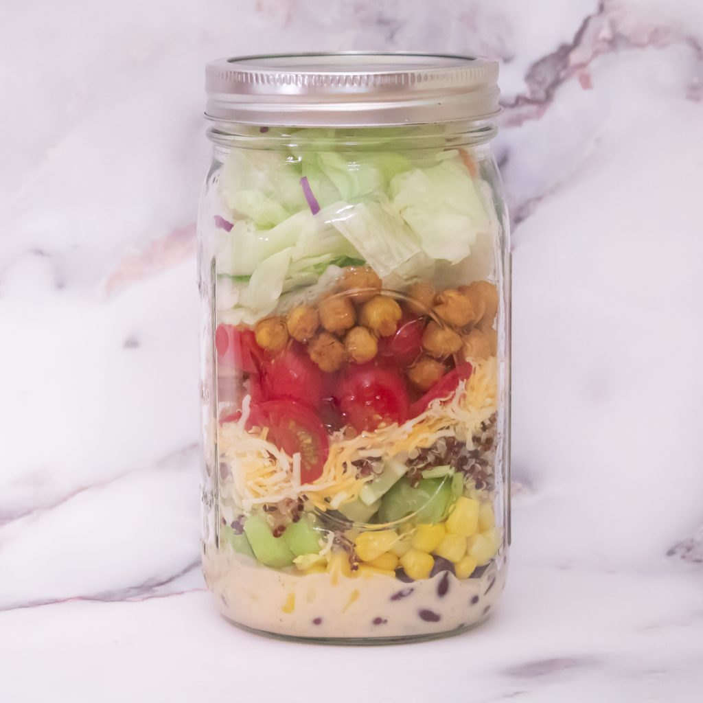 Southwest Jar Salad 1