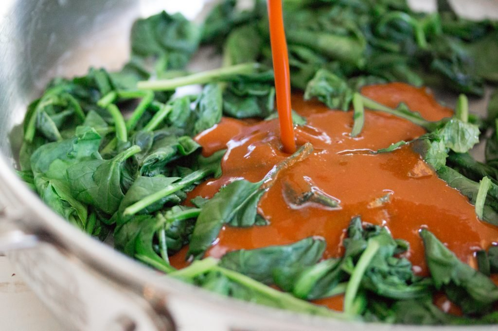 Spicy Spinach 1