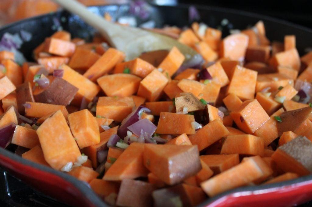 Spicy Sweet Potato Hash 3
