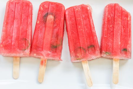 Spicy Watermelon Popsicles 1