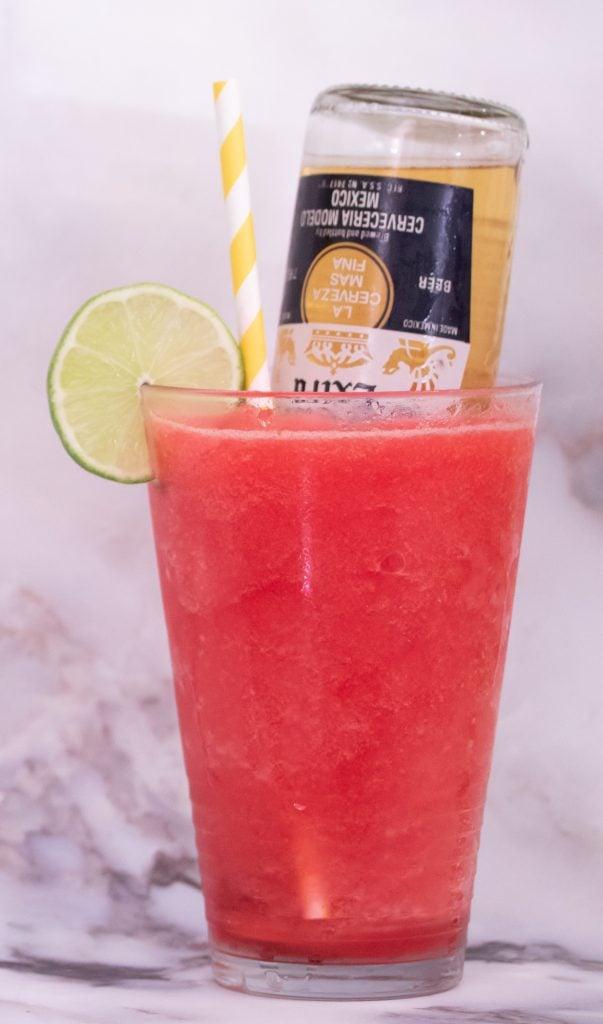 Strawberry Coronarita Recipe 1