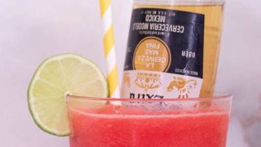 Strawberry Coronarita Recipe Main 1
