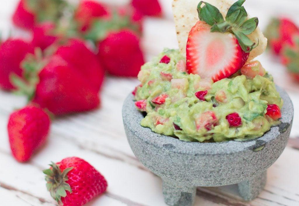 Strawberry Guacamole 3