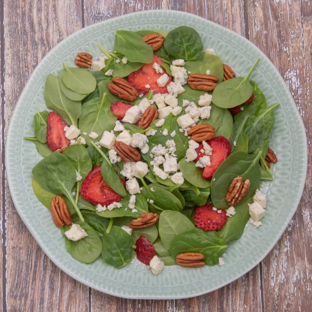 Strawberry Spinach Salad website 1