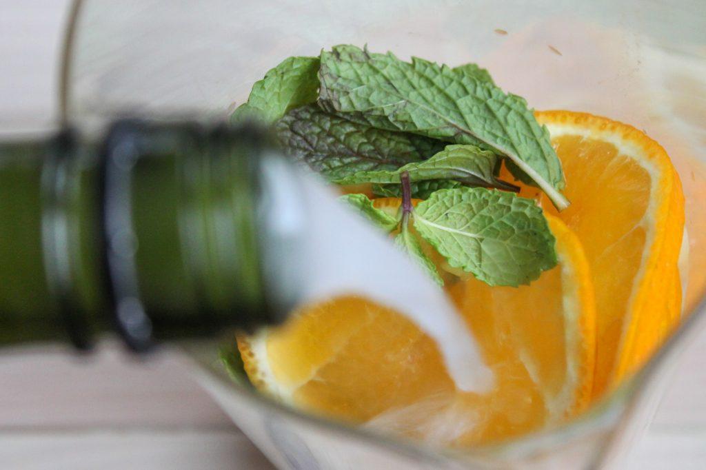 Tangerine Ginger Sake 1