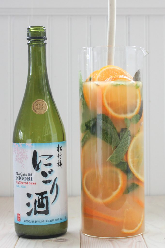 Tangerine Ginger Sake Bottle 1