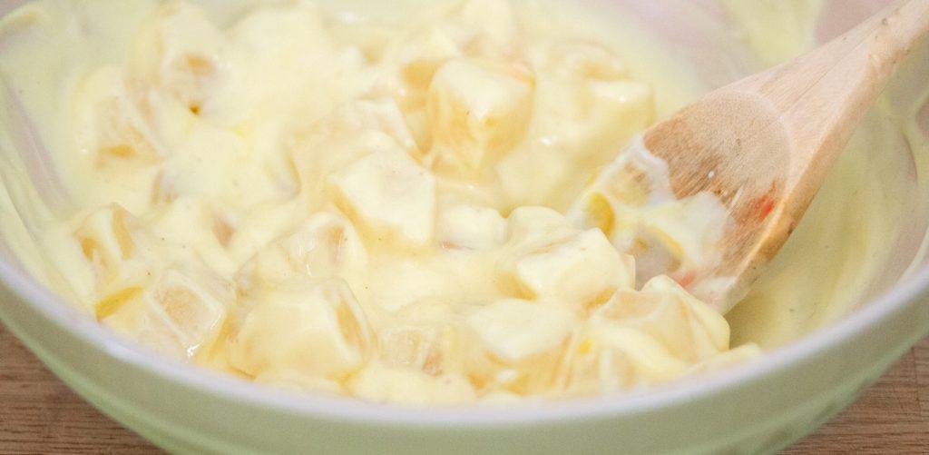 Vanilla Yogurt with Pineapple Dyed 1